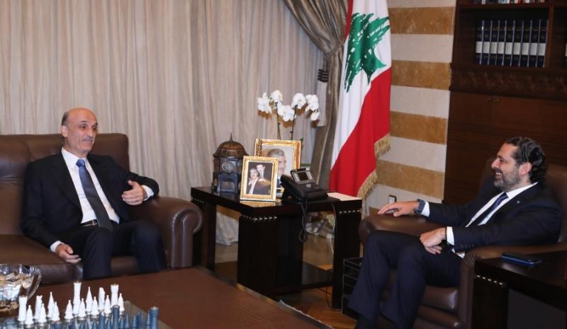 جعجع: لا يجوز أن يرمي أحد لبنان في الهاوية