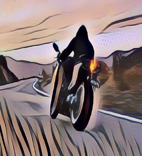 سائق دراجة