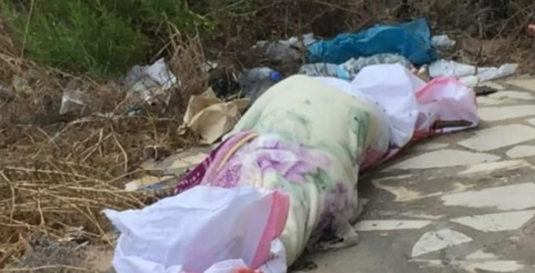 جثة مقابل جامعة فينيسيا