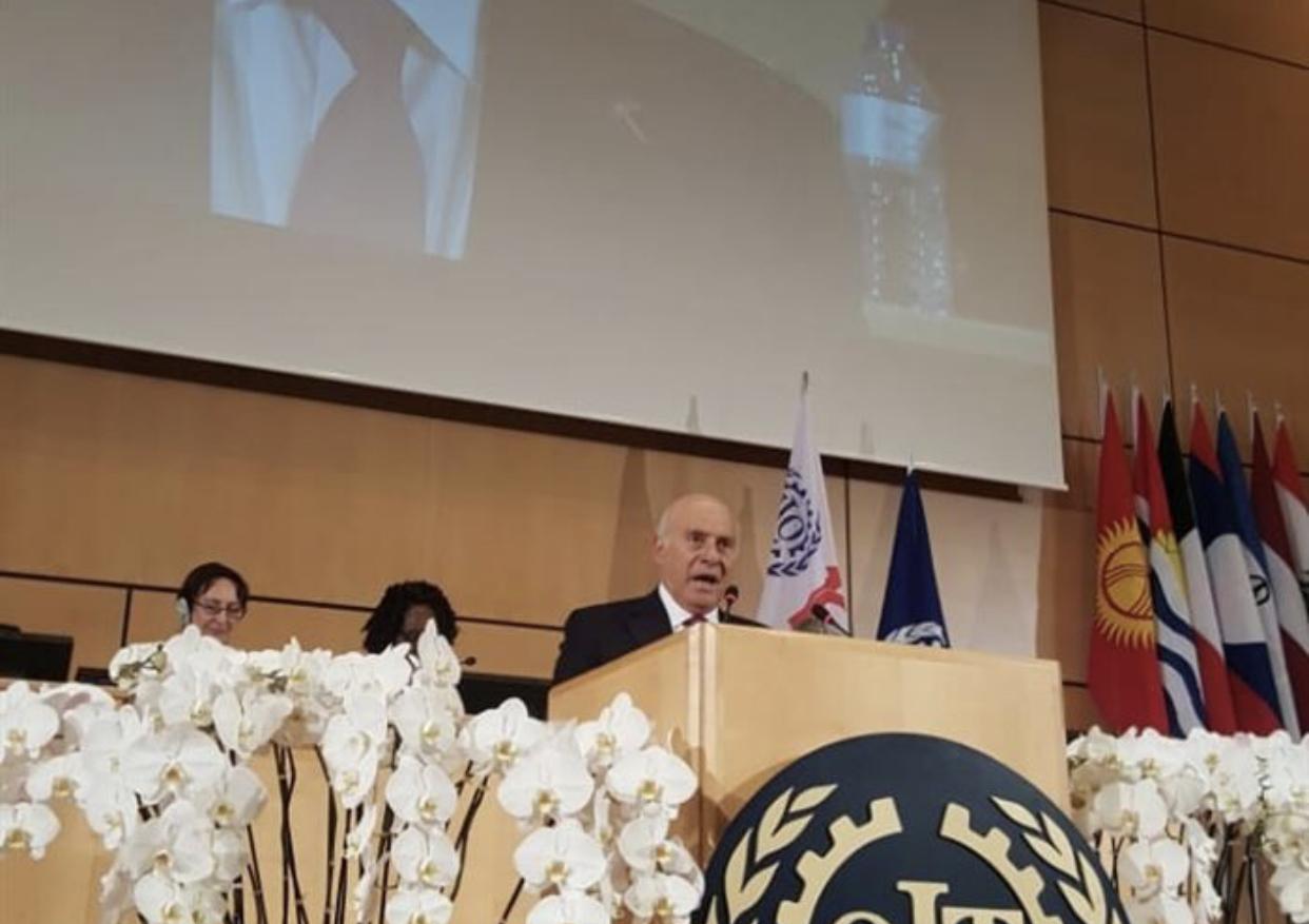انسحاب الوفد السوري خلال كلمة لبنان في جنيف
