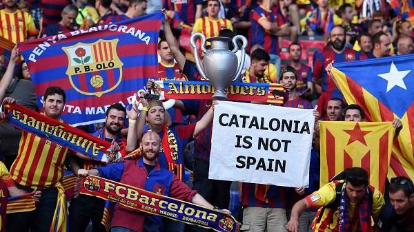 هل يغادر برشلونة الدوري الإسباني هذا الشهر؟