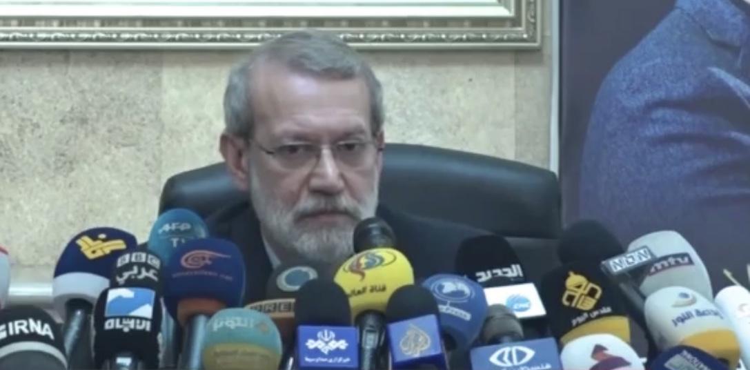 لاريجاني: حزب الله سند للبنان