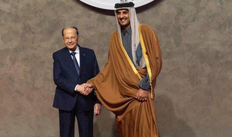 أمير قطر: شكراً لبنان