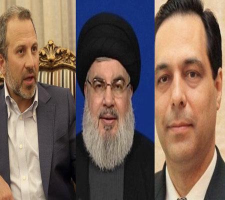 دياب وباسيل.. الكلُ ينتظر حزب الله