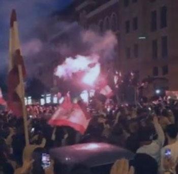ماذا حصل امام بلدية بيروت؟