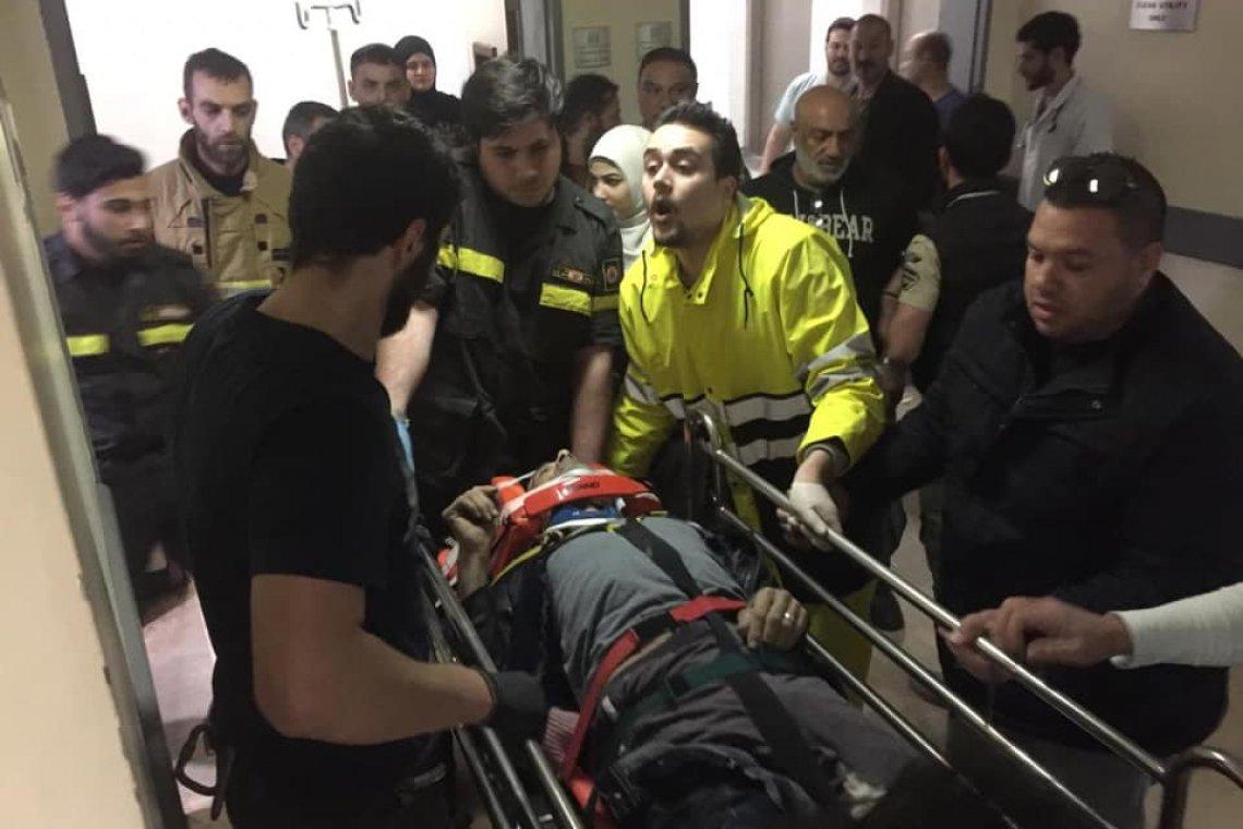 سقط داخل منور مستشفى في بيروت