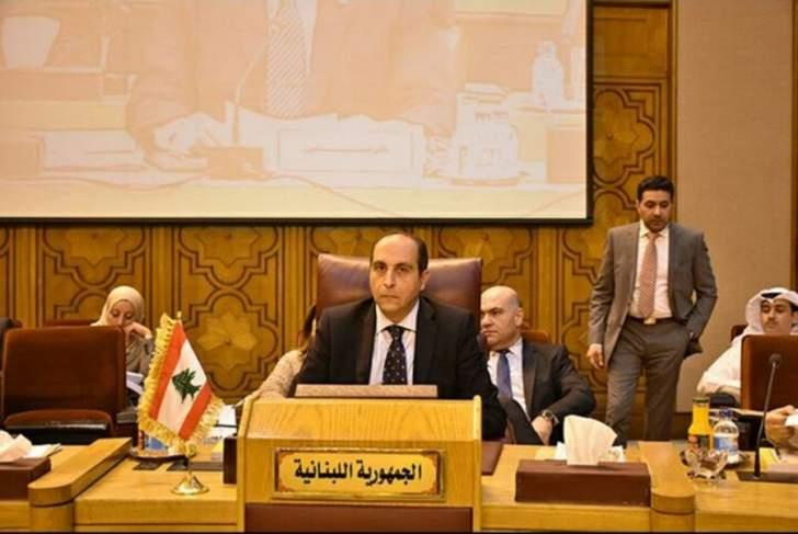 مندوب لبنان يرفض توصيف حزب الله بالارهابي