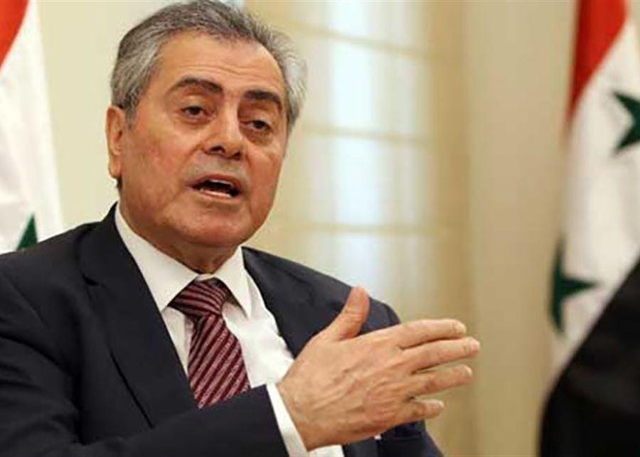 السفير السوري: خلاص لبنان هو بالانفتاح...