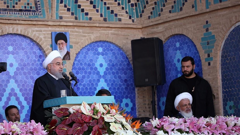 روحاني يعلن الانتصار!