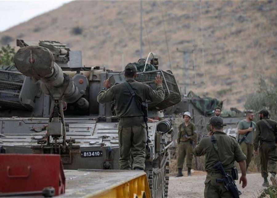 تعزيزات اسرائيلية على الحدود مع لبنان