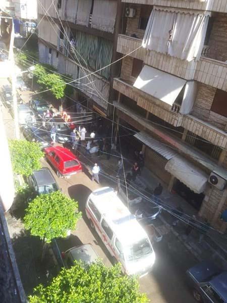 في حي اللجا: سقطت من الطابق السادس