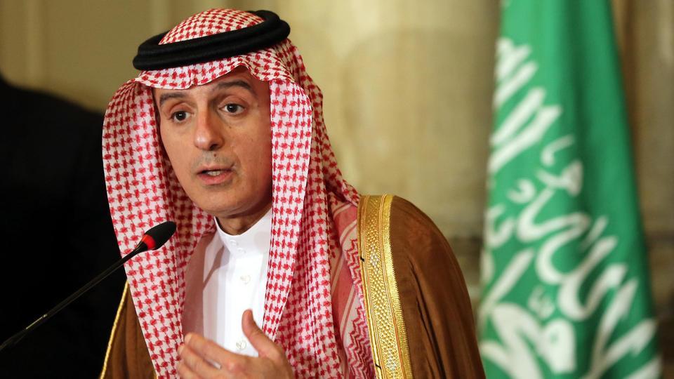 الجبير: القيادة السعودية خط أحمر