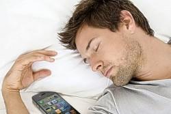 الهاتف والنوم