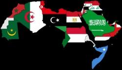 معاني أشكال وألوان الدول العربية