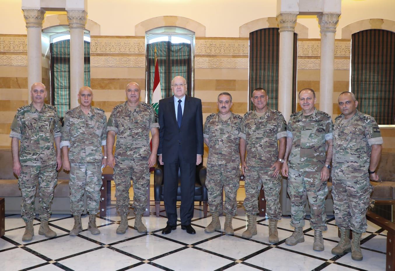 ميقاتي: سندعم المؤسسة العسكرية