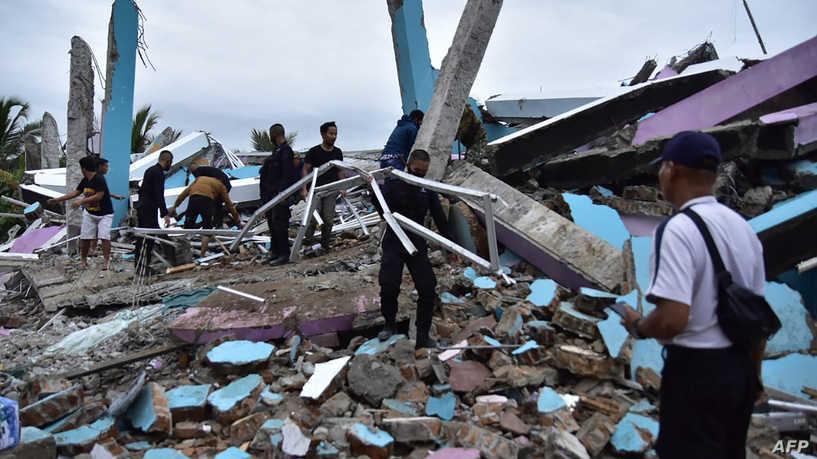 زلزال يضرب إندونيسيا وتخوف من تسونامي