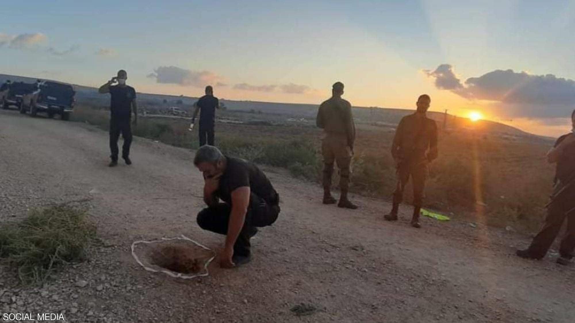 بالصور: هروب 6 أسرى فلسطينيين من سجن جلبوع...