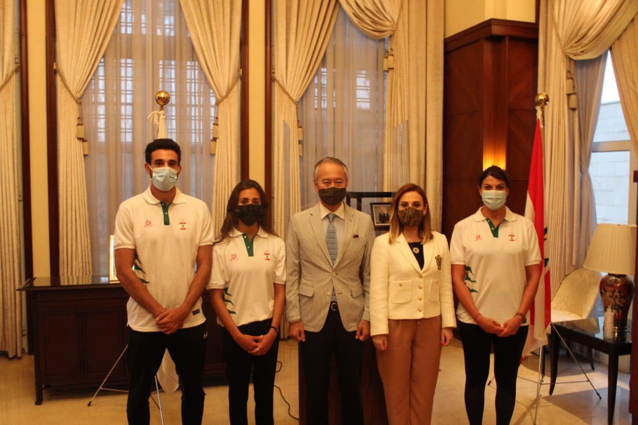 لبنان في أولمبياد طوكيو ... بدعم من السفارة...