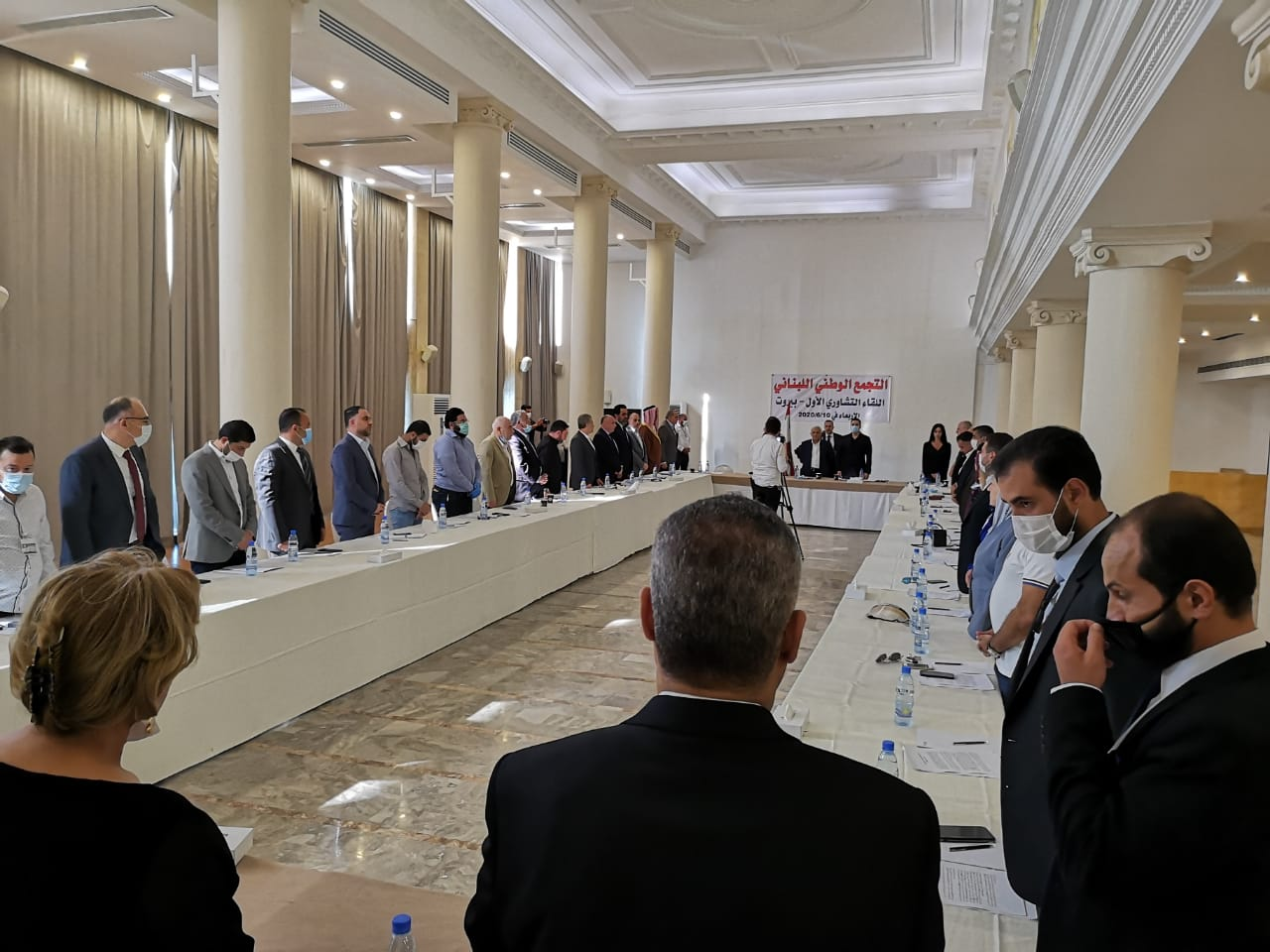 التجمع الوطني اللبناني: وقف تمويل المحكمة...