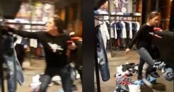 اشكال داخل محل ألبسة في أسواق بيروت